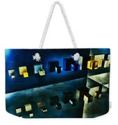 Cubes Reflection Weekender Tote Bag