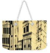 Cubic Building Weekender Tote Bag