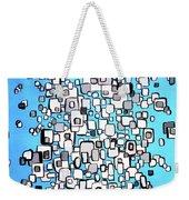 Cubic Separation Weekender Tote Bag