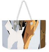 Cubism Series Xvi Weekender Tote Bag