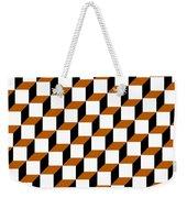 Cubism Squared Weekender Tote Bag