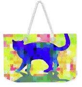 Cubist Cat Weekender Tote Bag