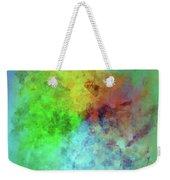 Cubist Rainbow Clouds Weekender Tote Bag