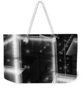 Cubistic Aspect Of Reflective Light Weekender Tote Bag