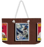 Cubs Card Collection Weekender Tote Bag