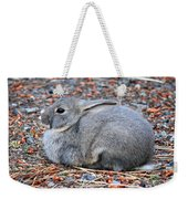 Cuddly Campground Bunny Weekender Tote Bag