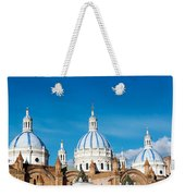 Cuenca Cathedral Domes Weekender Tote Bag