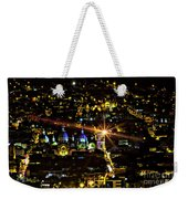 Cuenca's Historic District At Night Weekender Tote Bag