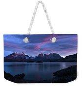 Cuernos Sunrise Part 1 - Chile Weekender Tote Bag