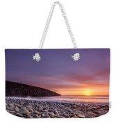 Cullernose Point At Sunrise Weekender Tote Bag