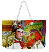 Cultural Opera Actor In Red Weekender Tote Bag