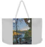 Cumberland Falls Ky From Eagle Falls Trail Weekender Tote Bag