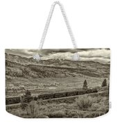 Cumbres Toltec Railroad Nm Sepia Dsc04065 Weekender Tote Bag
