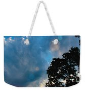 Cumulonimbus Clouds At Sunset Weekender Tote Bag