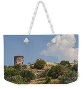 Cunda Island Greek Windmill Weekender Tote Bag