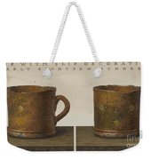 Cup With Slip Decoration Weekender Tote Bag