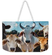 Cupcake Cows Weekender Tote Bag