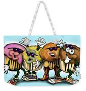 Cupcake Dance Weekender Tote Bag