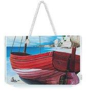 Cupecoy Beach Poster Weekender Tote Bag
