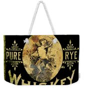 Cupid Whiskey Weekender Tote Bag