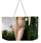 Cupidon Weekender Tote Bag by William Adolphe Bouguereau