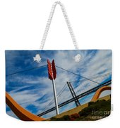 Cupids Bow And Arrow Weekender Tote Bag