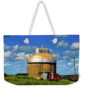 Cupola Grain Silo - Iowa Weekender Tote Bag