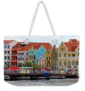 Curacao Willemstad Panorama Weekender Tote Bag