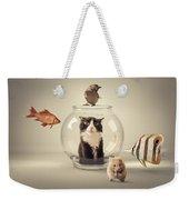 Curiosity Killed The Cat Weekender Tote Bag