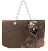 Curiosity Rover Self-portrait Weekender Tote Bag