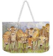 Curious Calves Weekender Tote Bag