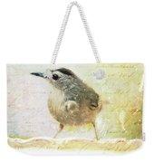 Curious Catbird Weekender Tote Bag
