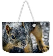 Curious Squirrel Weekender Tote Bag