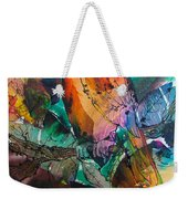Curly Weekender Tote Bag