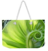 Curly Leaf Weekender Tote Bag