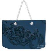 Curly Swirly Weekender Tote Bag