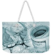 Currency Weekender Tote Bag