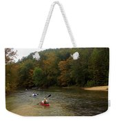 Current River 3 Weekender Tote Bag