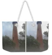Currituck Beach Light Station - 3d Stereo Crossview Weekender Tote Bag