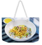 Curry Sauce Vegetable Salad With Noodles And Sesame Weekender Tote Bag