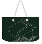 Cursor Control Device Patent Drawing 1bj Weekender Tote Bag