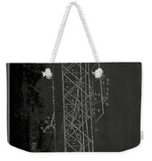 Flying Machine Patent Drawing 1e Weekender Tote Bag