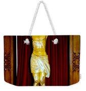Curtains And Cross Weekender Tote Bag
