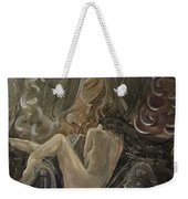 Curtains At Dusk Weekender Tote Bag
