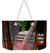Curtains Blow Away And Back Again Weekender Tote Bag