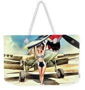 Curtis P-40 Warhawk Weekender Tote Bag