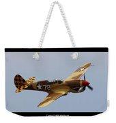 Curtis P-40n Warhawk Weekender Tote Bag