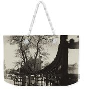 Curved Gate Weekender Tote Bag
