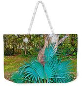 Curves And Fronds Weekender Tote Bag