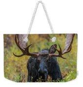 Custer In Autumn Weekender Tote Bag